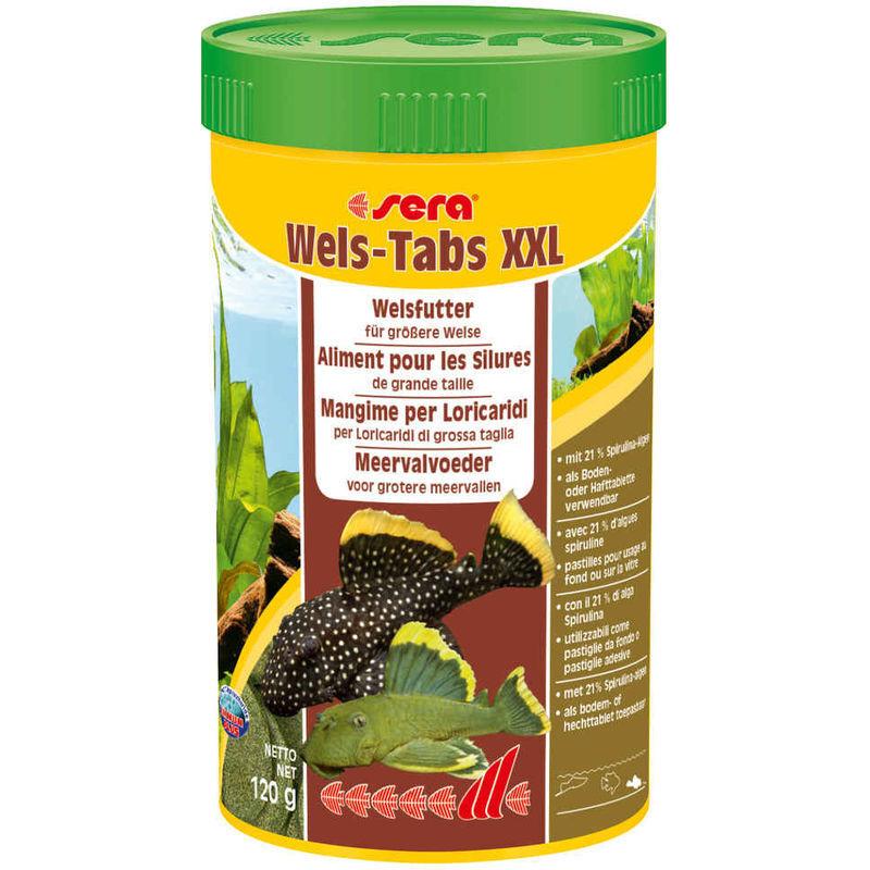 Sera Aliments Wels-Tabs XXL pour les Silures de Grande Taille - 250ml - Sera