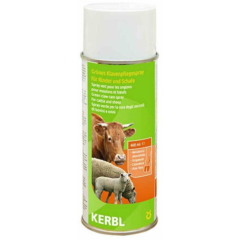 KERBL FRANCE spray vert pour les onglons pour ovin et bovin 400ml