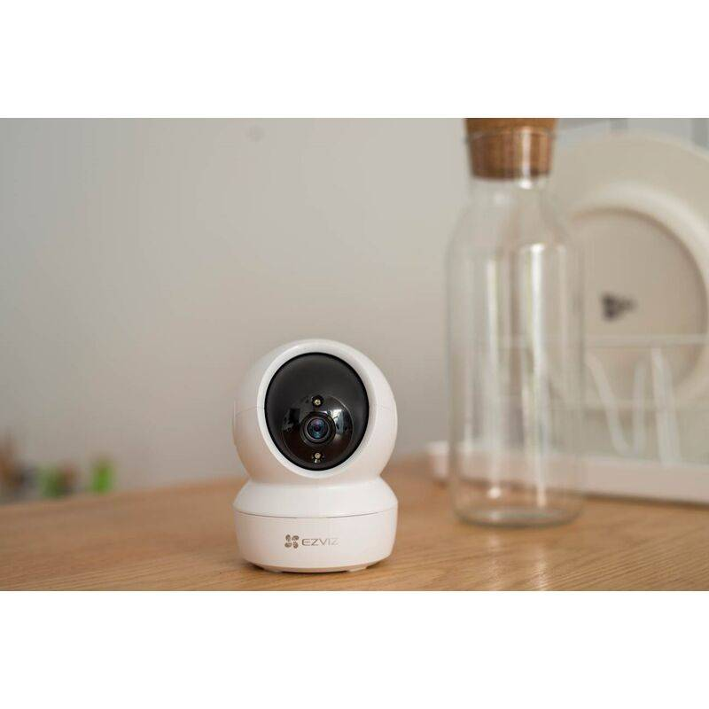 EZVIZ Caméra d'intérieur motorisée C6N Full HD - Compatible Google Home & Amazon Alexa