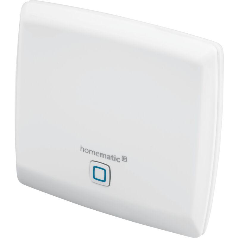 HOMEMATIC IP Point d'accès, box domotique pour votre maison connectée Homematic IP, application gratuite et contrôle vocal via Amazon Alexa et l'assitant Google