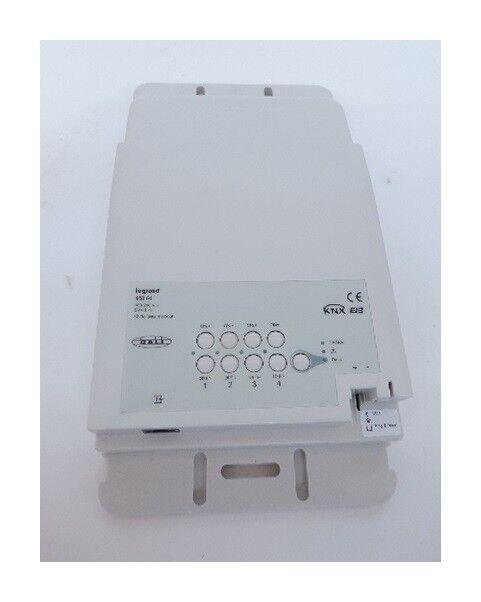 LEGRAND Contrôleur éco 2 BUS/KNX faux plafond pour variation d'intensité luminaire Dali 4 sorties (32 ballast max/sortie) Legrand 048864