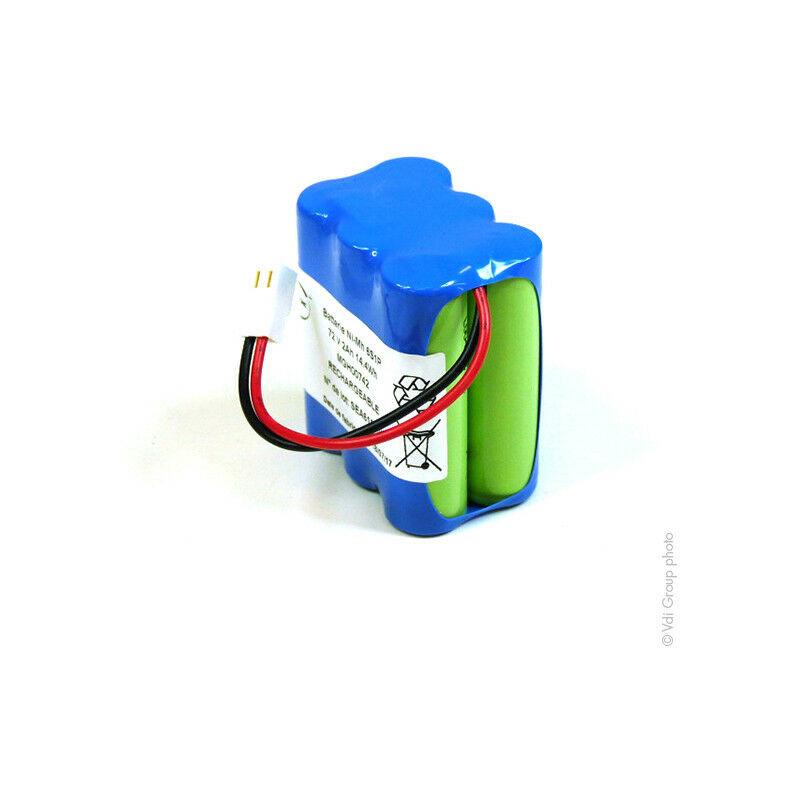 NX ™ NX - Batterie NiMH 6x AA 6S1P ST2 F75 7.2V 2Ah Molex