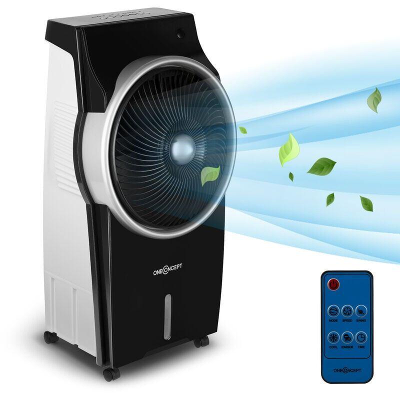 ONECONCEPT Kingcool 4-en-1 rafraîchisseur d'air ventilateur ioniseur humidificateur noir