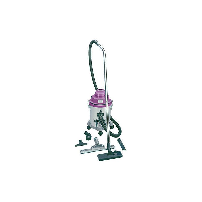 SIDAMO Aspirateur JET 15 à sec et à eau - Cuve Inox 10 L - 1 000 W 230 V