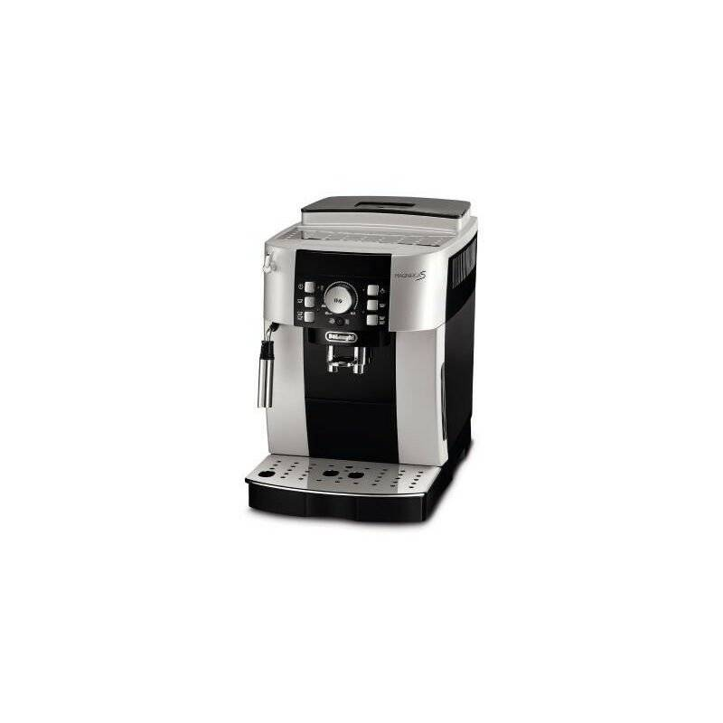 Delonghi De'Longhi De Longhi Magnifica S ECAM 21.117.SB - Machine à expresso - 1,8 L - Café en grains - Café moulu - Broyeur intégré - 1450 W - Noir - Argent