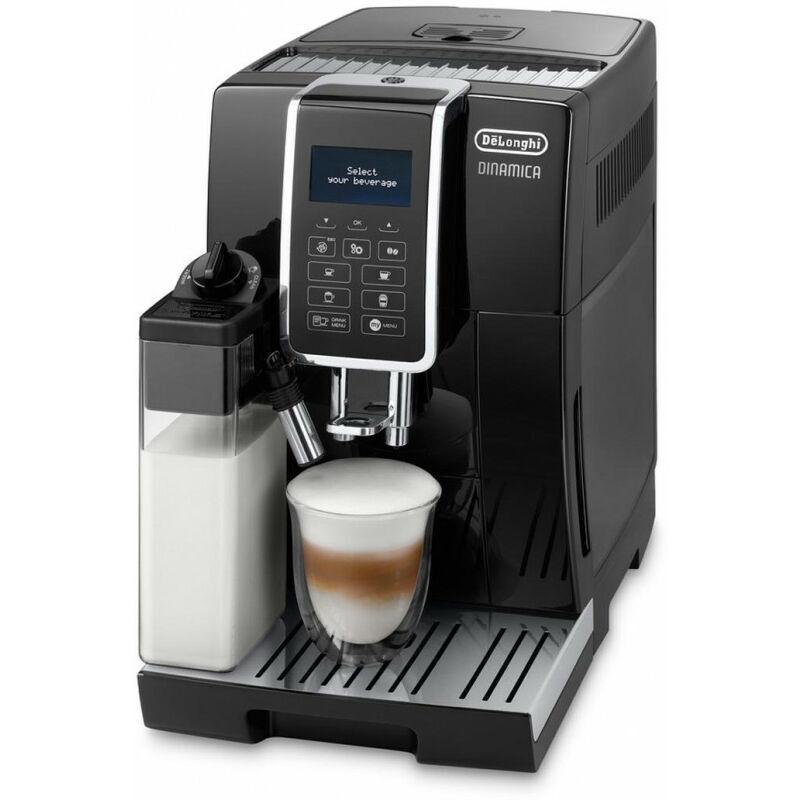 Delonghi De'Longhi De Longhi Dinamica Ecam 350.55.B - Machine à expresso - Café en grains - Café moulu - Broyeur intégré - 1450 W - Noir (0132215297)