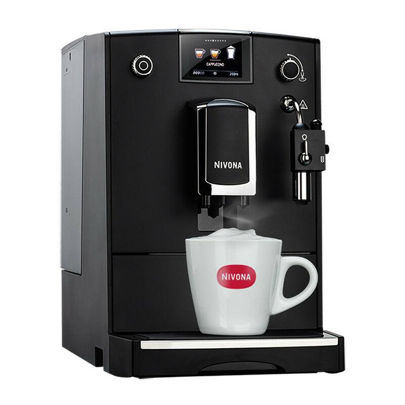 NIVONA Machine A Cafe 2L2 1455W Max - Noir Mat Chrome Nicr660 NICR660 - Nivona