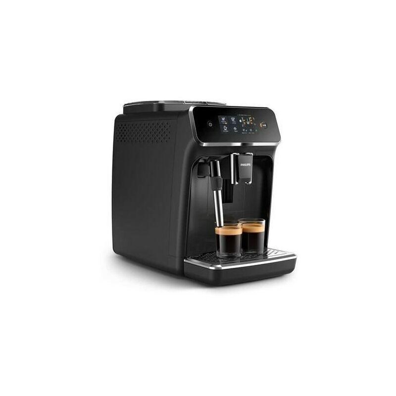 Philips EP2221 - Machine a café expresso avec broyeur - Mousseur a lait - Technologie AquaClean - 15 bars - Noir mat
