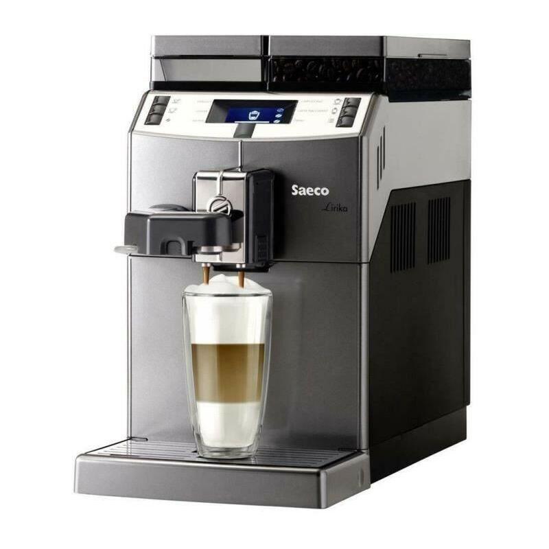 Saeco Machine a café SAECO Lirika OTC 10004768 - Noir, Gris et Métallique - Autonome - 2,5 L - Café en grains - 1850 W