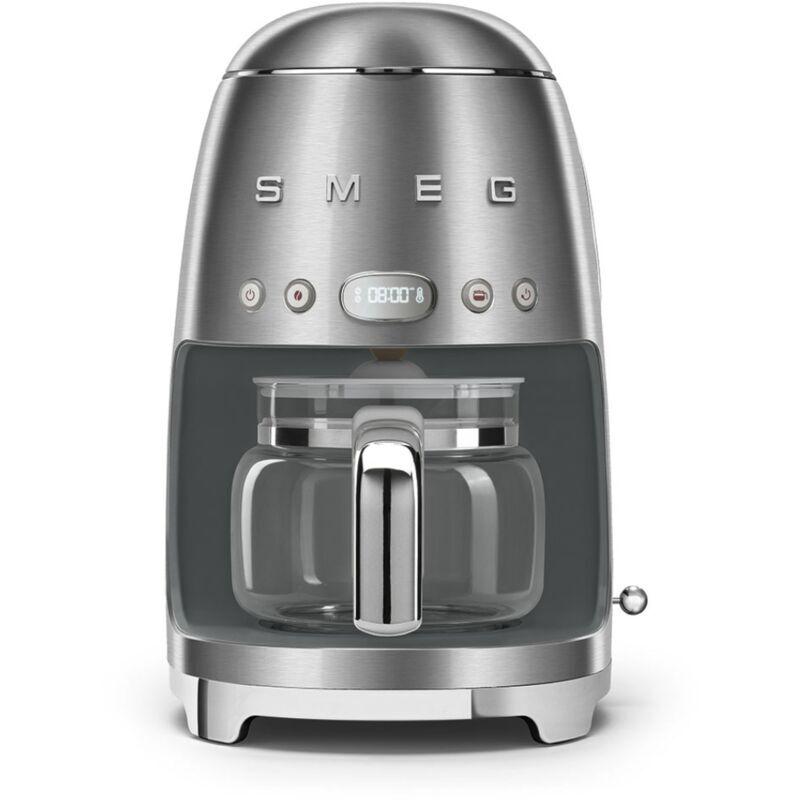 Smeg Machine a cafe filtre Annees 50, Inox DCF02SSEU - Smeg