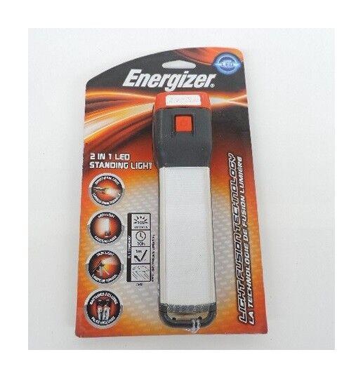 Energizer Lampe torche LED tête directionnelle 100lm 190mm avec variateur de lumière et pied Fusion 2 in 1 Standing light ENERGIZER 381610