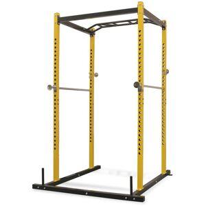 VIDAXL Portant de musculation fitness 140 x 145 x 214 cm jaune et noir - Publicité