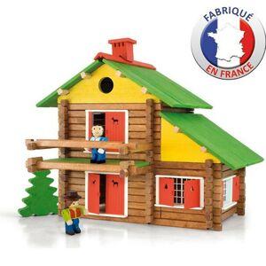 JEUJURA - Construction en bois - Mon Chalet en Bois 175 pieces - Publicité