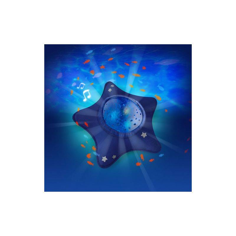Pabobo Veilleuse Peluche Étoile Calm Ocean Bleu - Pabobo