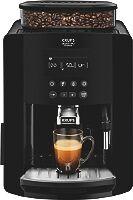 Krups Expresso broyeur à café grains Krups Arabica noire écran LCD Quattro Force YY3074FD