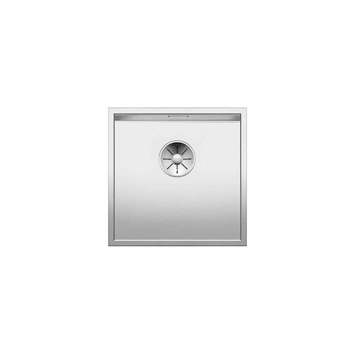 BLANCO ZEROX 400-U DURINOX - Inox Lisse
