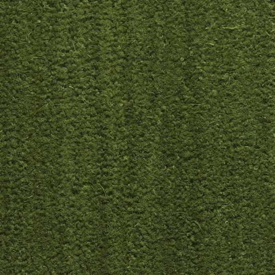 Paillasson - Tapis brosse Coco - Vert - Ep. 17mm