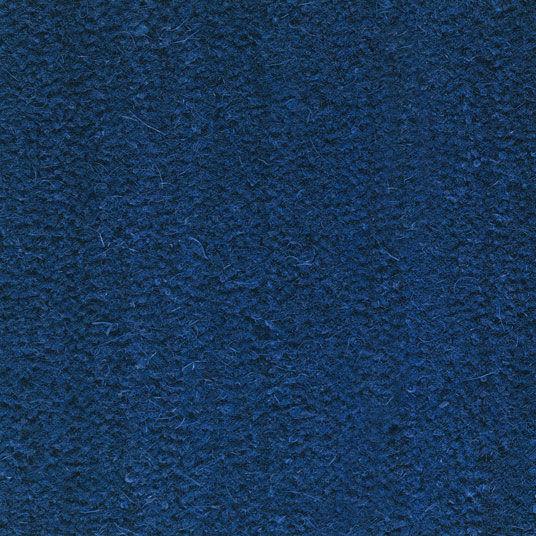 Tapis sur mesure Paillasson Brosse Coco 17mm - Bleu