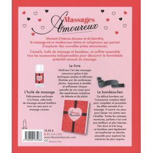Editions Blanche Coffret Massages Amoureux - Publicité