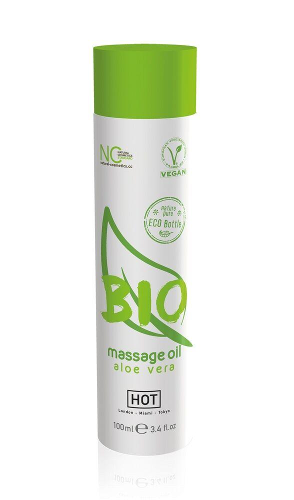 HOT Huile de Massage Bio Aloe Vera 100 ml
