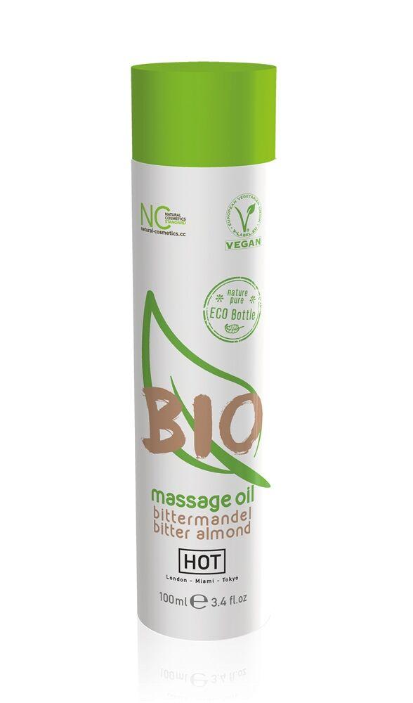 HOT Huile de Massage Bio Amande Amère 100 ml