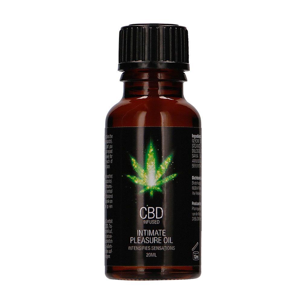 CBD by PharmQuests Huile Stimulante Mixte CBD Infused 20 ml
