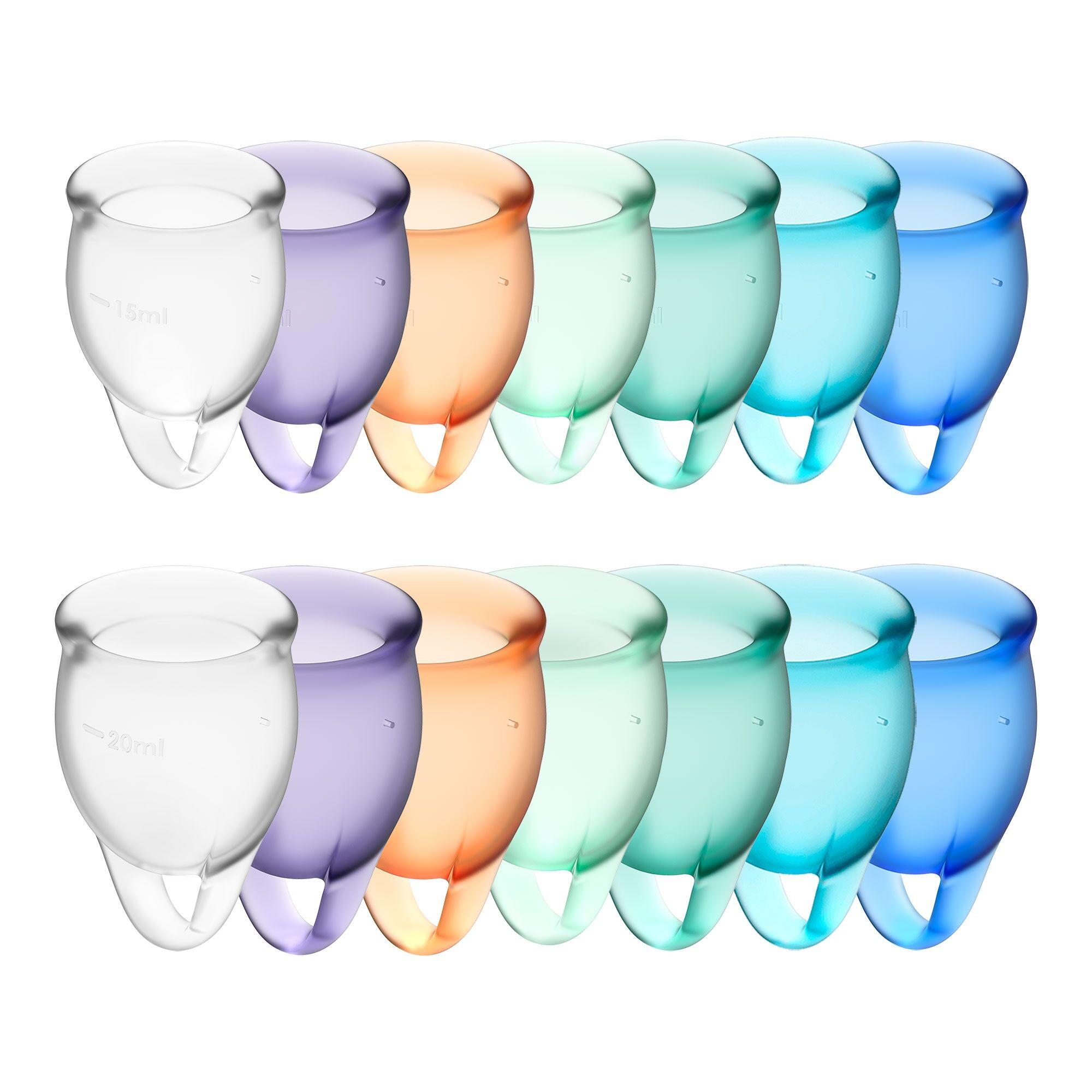 Satisfyer Coupe Menstruelle Satisfyer Feel Confident - Couleur : Violet