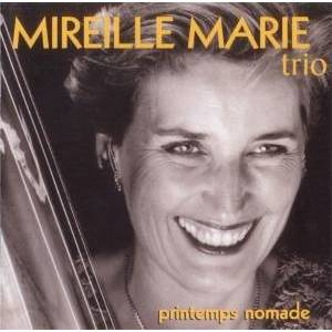 EccE CD Printemps Nomade, Mireille Marie Trio - Publicité