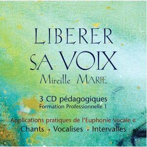 EccE CD coffret Libérer sa Voix vol 1, Mireille Marie - Publicité