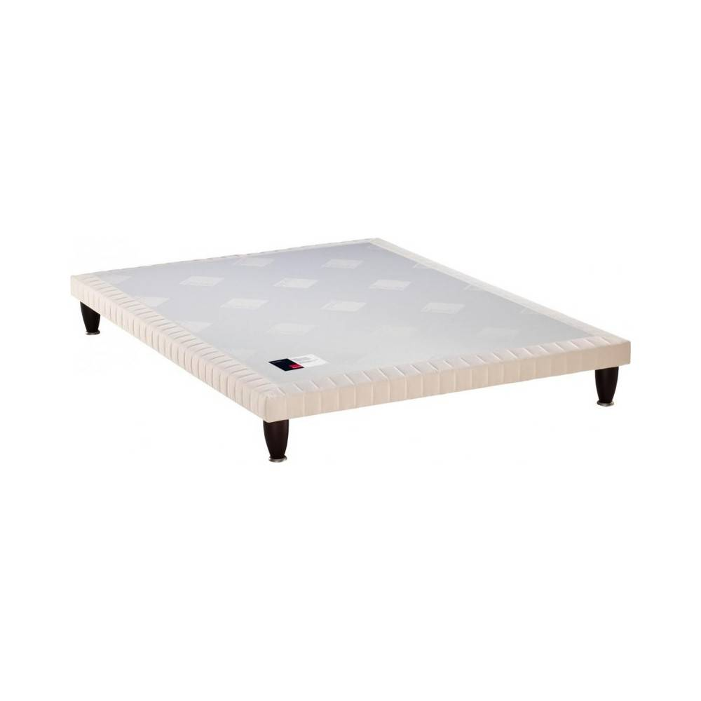 EPEDA Sommier tapissier Epeda Extra-Plat 3 Zones Confort Medium 200x200 avec 2 sommiers