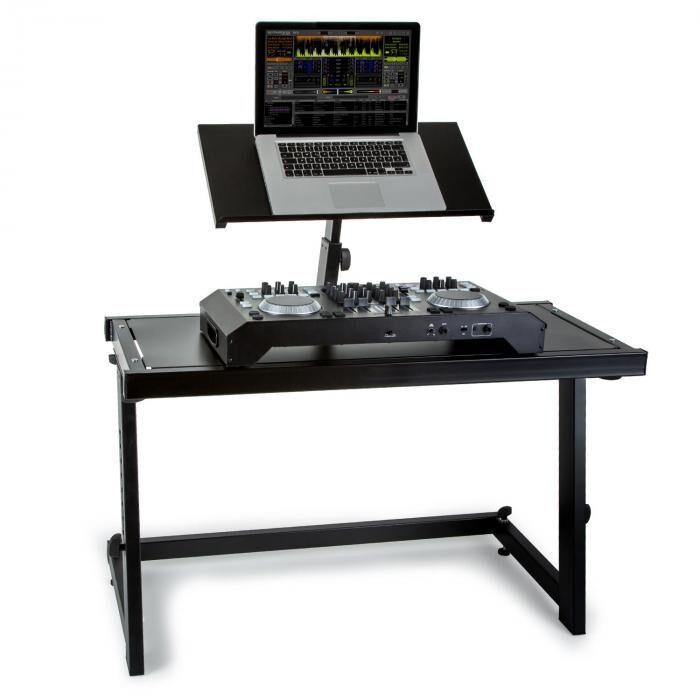 Vonyx DJ-Pult DS20 Pupître DJ support portable à hauteur réglable