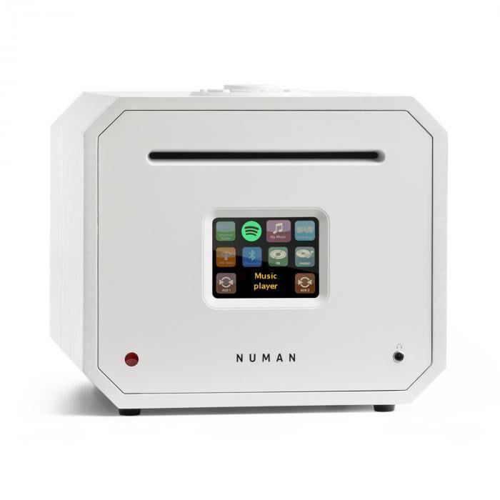 Numan Unison Octavox Edition – Récepteur tout-en-un avec amplificateur - Blanc