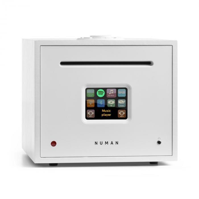 Numan Unison Reference Edition – Récepteur tout-en-un avec amplificateur - blanc