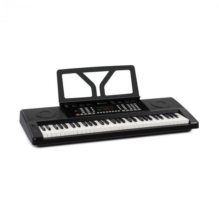 SCHUBERT Etude 61 MK II Clavier 61 touches de 300 sons / rythmes - Noir