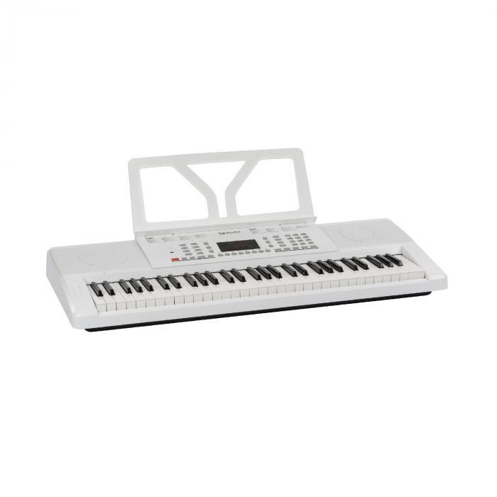 SCHUBERT Etude 61 MK II Clavier 61 touches de 300 sons / rythmes - Blanc