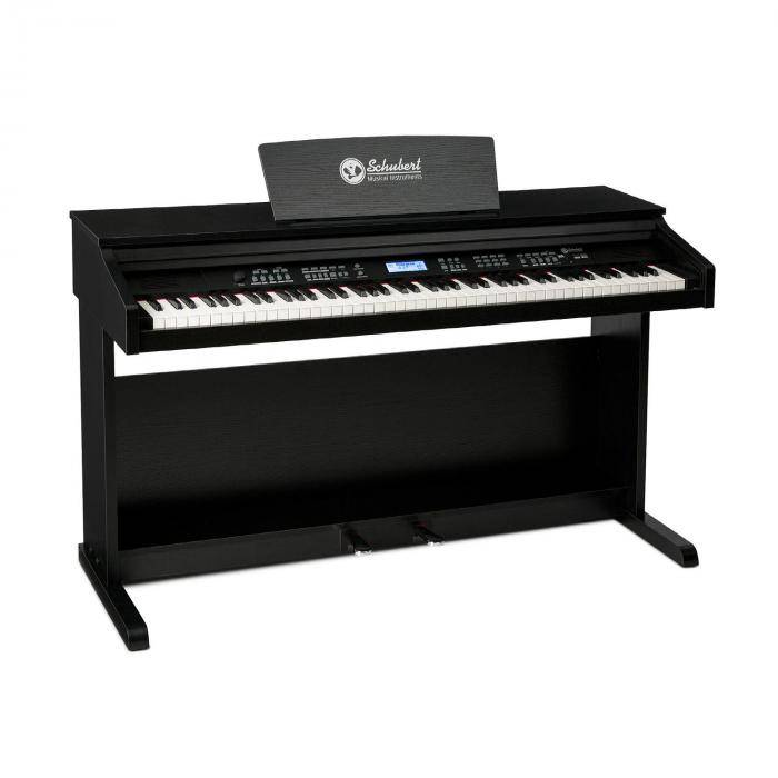SCHUBERT Subi88 MKII clavier 88 touches MIDI USB 360 sons 160 rythmes noir