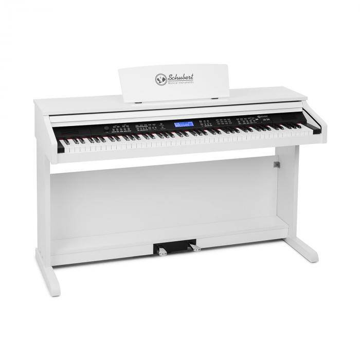SCHUBERT Subi 88 MK II clavier 88 touches MIDI USB 360 sons 160 rythmes blanc
