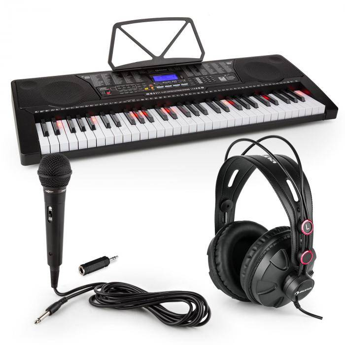 SCHUBERT Etude 225 USB Clavier 61 touches + casque + micro + jack