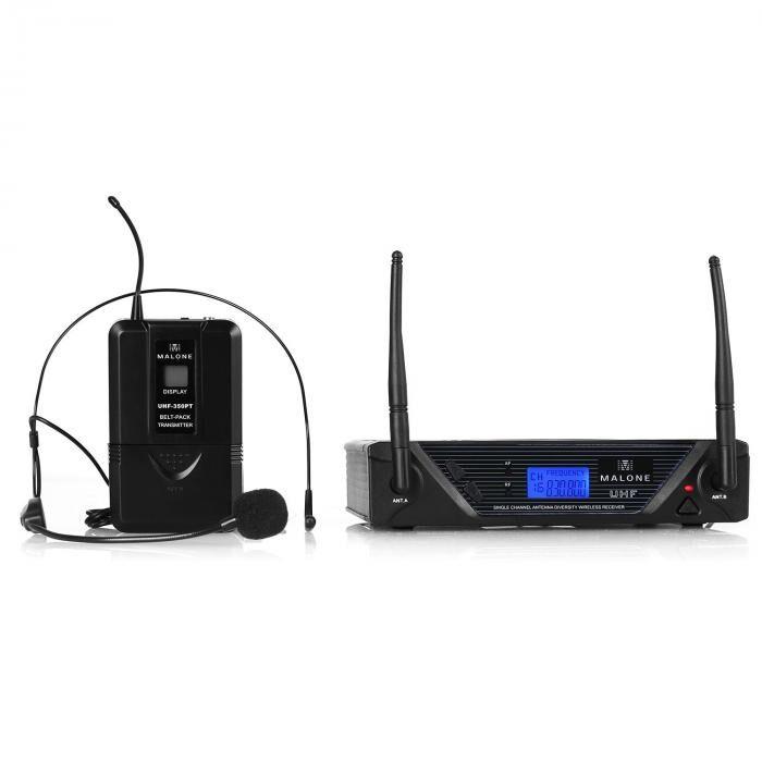 Malone UHF-350 Solo 1 canal set micro UHF sans fil