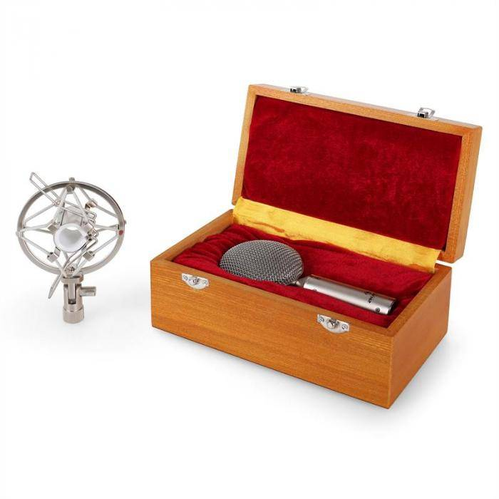 Auna CRM15 Micro à rubans studio XLR professionel vintage