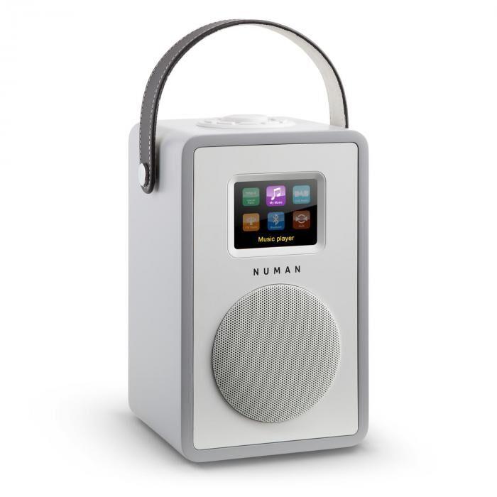 Numan Mini Two Radio internet design Wi-Fi DLNA Bluetooth DAB/DAB+ FM - gris