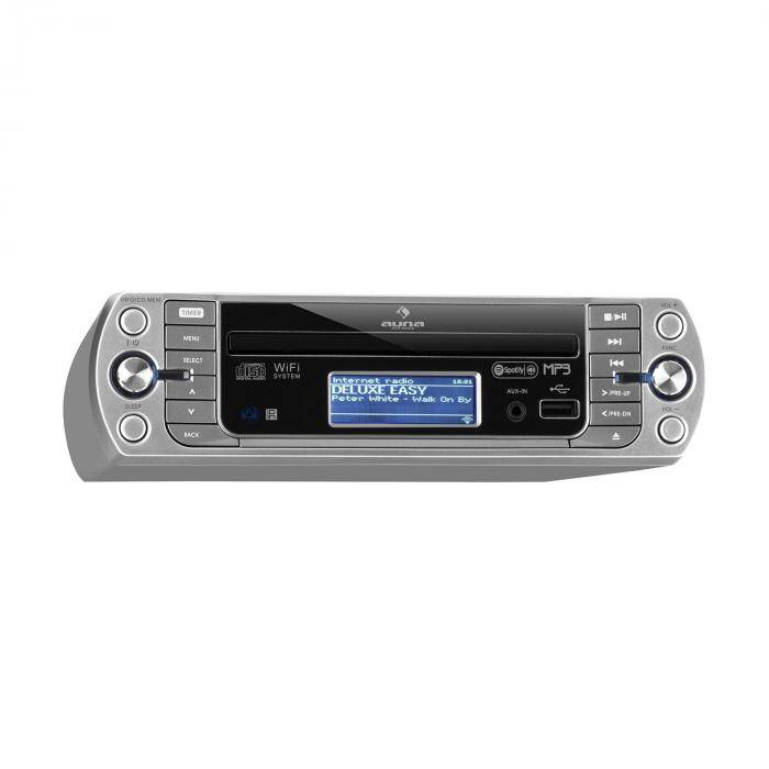 Auna KR-500 CD Radio de cuisine Internet tuner lecteur CD MP3 USB