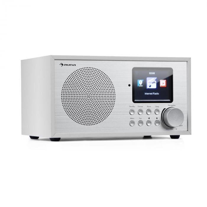 Auna Silver Star Mini radio Internet DAB+/FM WiFi Bluetooth  - bois blanc