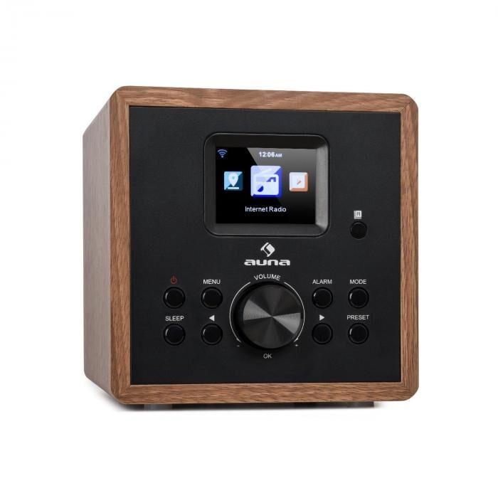 Auna Radio Gaga 2.0 Radio Internet tuner DAB+ FM PLL Bluetooth WiFi - bois