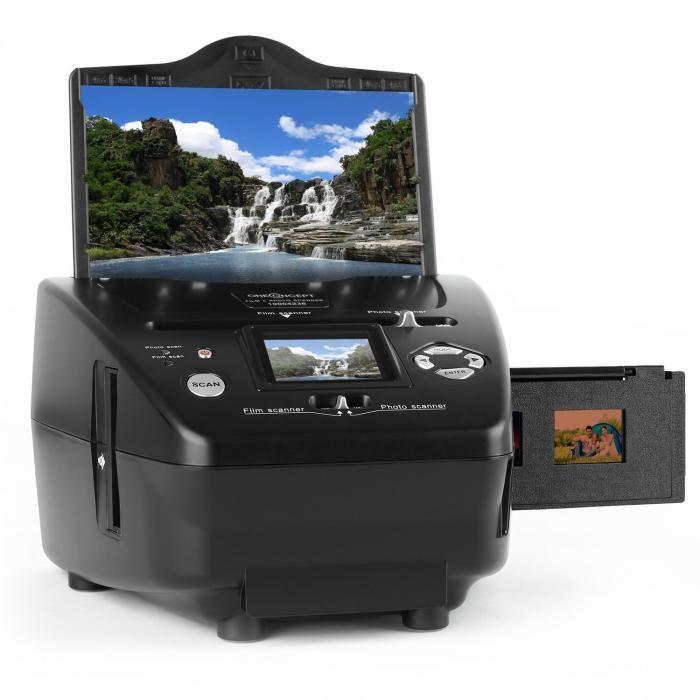 OneConcept Combo-scanner pour photos diapos films 35mm SD x d 5,1MP