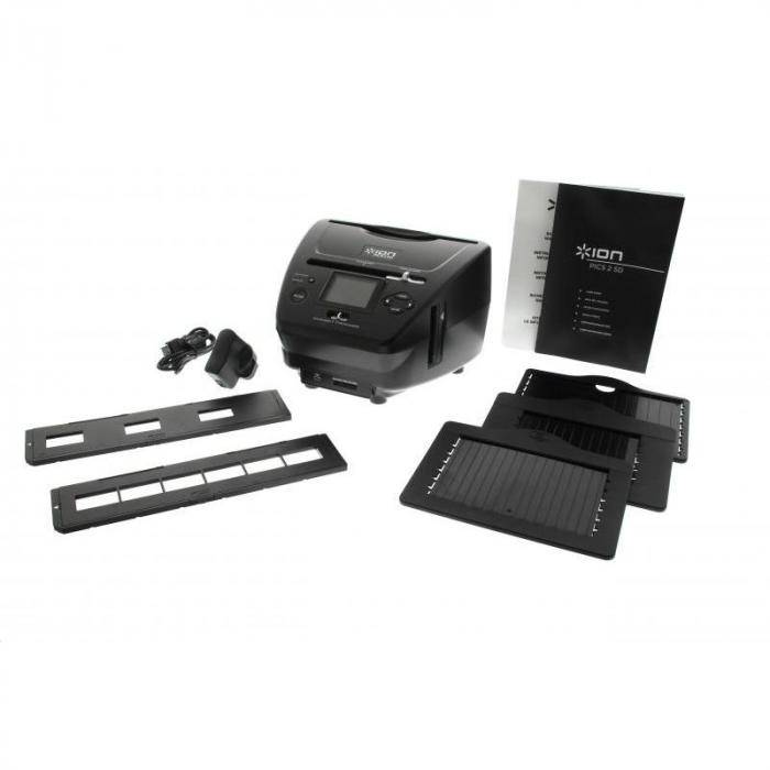 Ion Audio ION Pics 2 SD Scanner diapos Scanner photos Pellicule 35mm