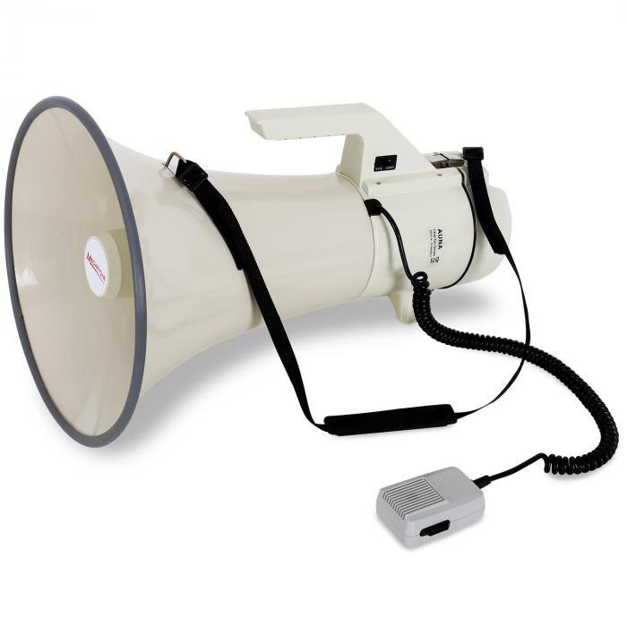 Auna mégaphone professionnel 160W micro 2400m