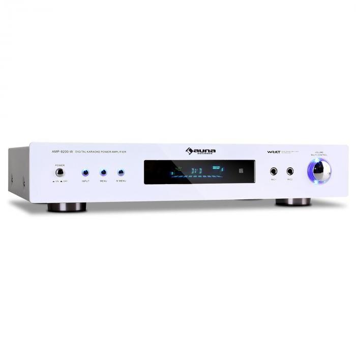 Auna AMP-9200 Ampli surround 5.1 récepteur radio blanc 600W
