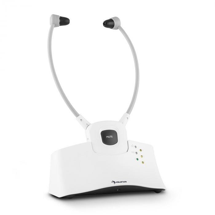 Auna Stethophone Ecouteurs stéthoscopique sans fil 2,4 GHz