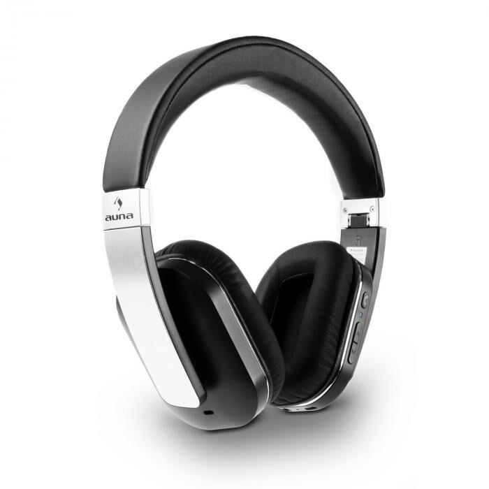 Auna Elegance ANC Bluetooth Casque audio antibruit NFC microUSB batterie 4.0